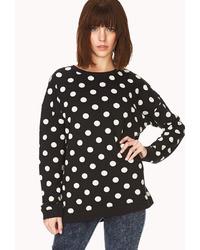 Playful polka dot sweatshirt medium 39436