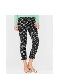 Black and White Polka Dot Pants