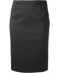 Polka dot print skirt medium 37177