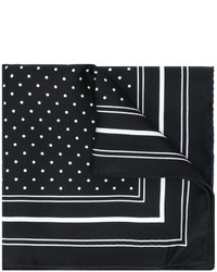 Dolce & Gabbana Polka Dot Print Pocket Square