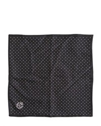 Dolce & Gabbana Polka Dots Silk Pocket Square