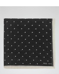 Reiss Hampton Dotted Woven Pocket Square