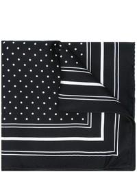 Polka dot print pocket square medium 876782