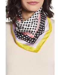 kate spade new york Dotty Silk Bandana