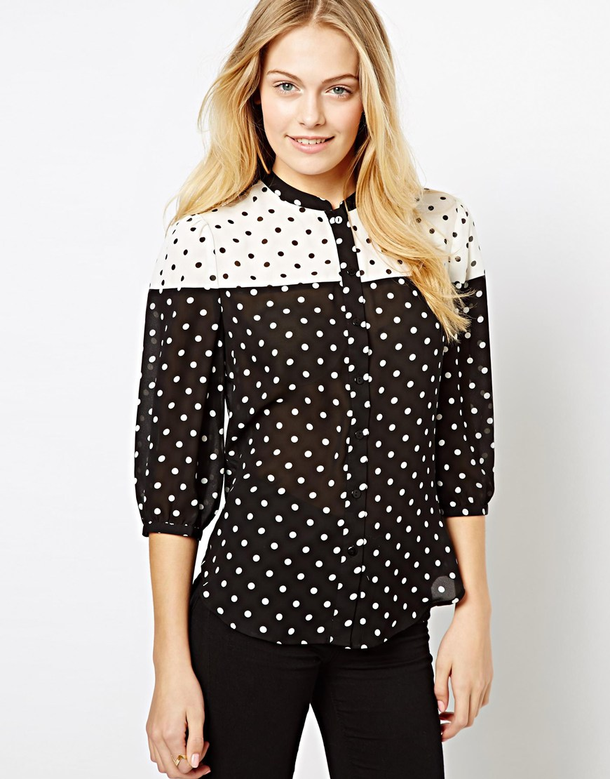 Shop for polka dot blouse online at Target. Free shipping on purchases over $35 and save 5% every day with your Target REDcard.