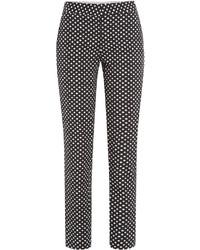 Diane von Furstenberg Polka Dot Trousers