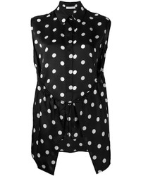 Polka dot patterned top medium 3650369