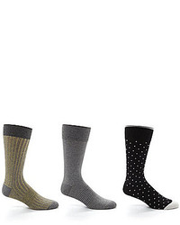 Roundtree & Yorke Gold Label Mid Calf Socks 3 Pack