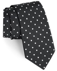 Gitman polka dot silk tie medium 179382