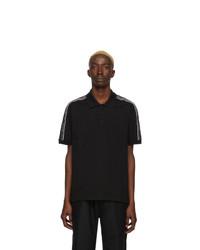 Givenchy Black Elastic Band Polo
