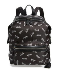 Moschino Allover Backpack