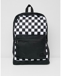 Jack & Jones Backpack With Checkerboard Print