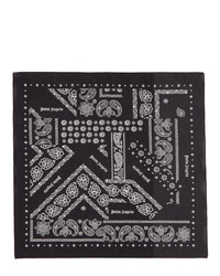 Black and White Print Bandana