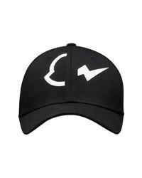 Moncler Genius 7 Moncler Frgmt Hiroshi Fujiwara Logo Cotton Baseball Cap