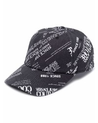 VERSACE JEANS COUTURE All Over Logo Print Cap