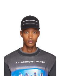 Undercover Black A Orange Print Cap