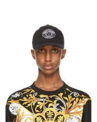 Versace Black And White Medusa Cap