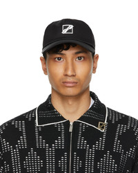 We11done Black Basic Logo Cap