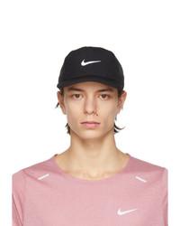 Nike Black Court Advantage Tennis Cap