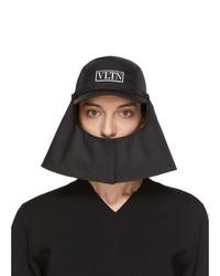 Valentino Black Garavani Vltn Sahara Baseball Hat
