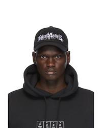 Vetements Black Goth Cap