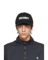 Vetements Black Insecurity Cap