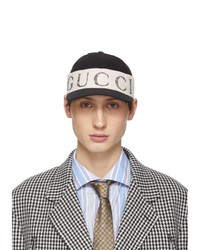 Gucci Black Logo Headband Cap