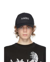 Amiri Black Logo Trucker Hat