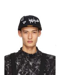 Yohji Yamamoto Black New Era Edition Removable Patches 59fifty Cap