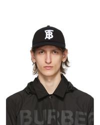 Burberry Black Tb Baseball Cap