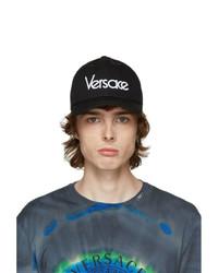 Versace Black Vintage Logo Cap