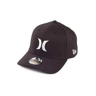 bdf76f90b91ba ... Hurley Hats One Only New Era Baseball Cap Blackwhite