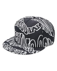 Moschino Warped Logo Snapback Cap