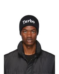 MSGM Black Turbo Beanie