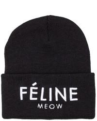 2374f1bc4a5 ... Brian Lichtenberg Feline Meow Unisex Beanie