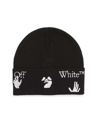 Off-White Cuff Wool Beanie