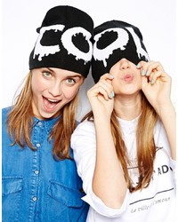 Monki Two Pack Kenny Beanie