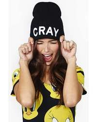 Nasty Gal That Ish Cray Beanie