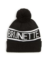 BRUNETTE the Label Pompom Beanie