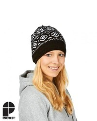Protest ventura beanie true black medium 121248