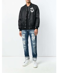 Philipp Plein Dollars Bomber Jacket