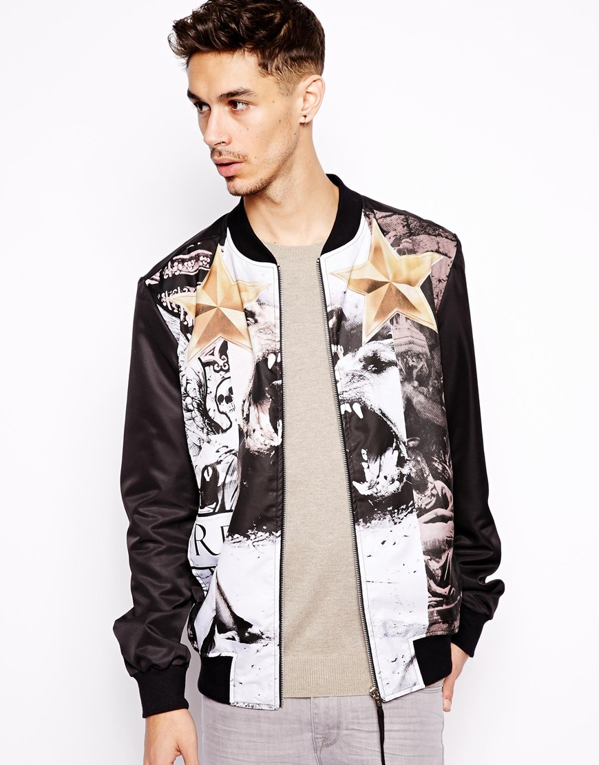 Religion Bomber Jacket With Print | Where to buy & how to wear