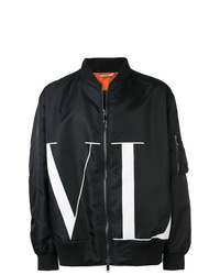 Valentino Vltn Bomber Jacket
