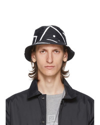 Acne Studios Black Motif Bucket Hat