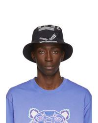 Kenzo Black Sport Logo Bucket Hat