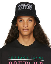 VERSACE JEANS COUTURE Black White Bucket Hat