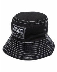VERSACE JEANS COUTURE Embroidered Logo Bucket Hat