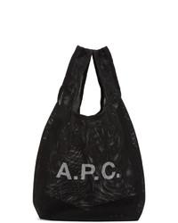 A.P.C. Black Rebound Shopping Tote