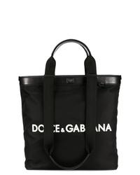 Dolce & Gabbana Logo Shopping Tote