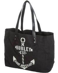 Hurley Tomboy Canvas Beach Tote Bag